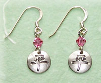 Peace Character Earrings