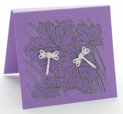Dragonfly filigree Earring